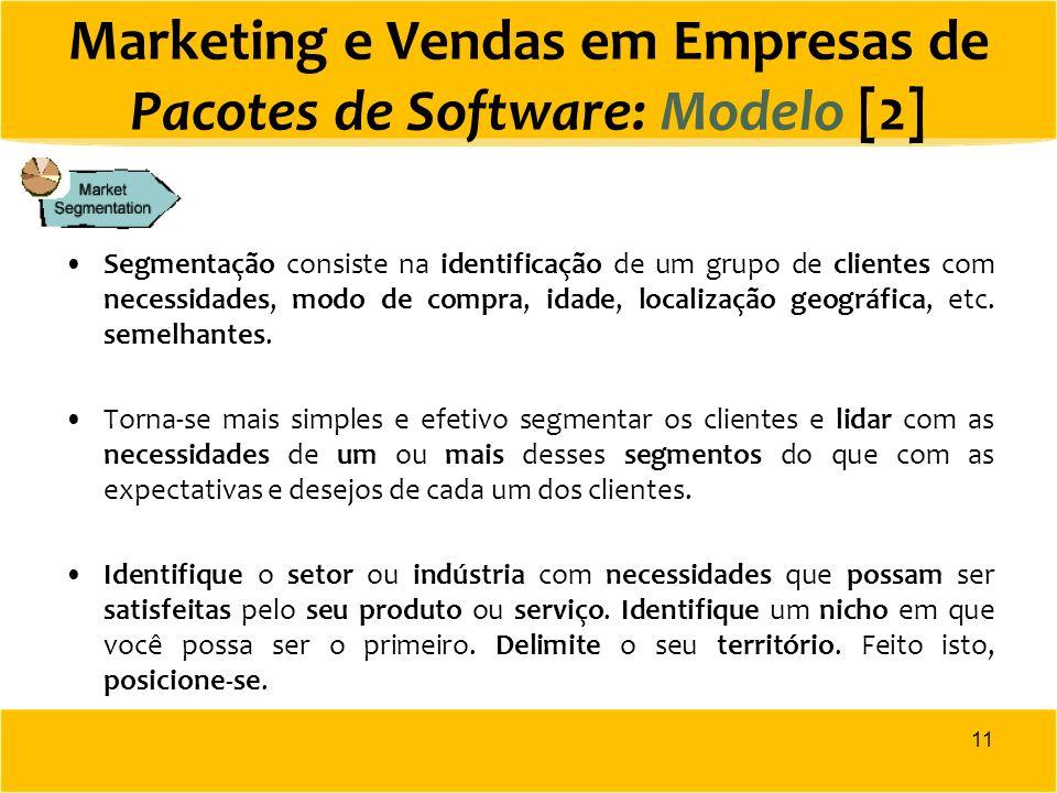 Marketing e Vendas em Empresas de Pacotes de Software: Modelo [2]